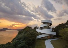 Ribbon Chapel by Hiroshi Nakamura & NAP Architects – Inspiration Grid | Design Inspiration #architecture #building #chapel #inspirationgrid