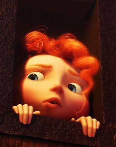 I love Merida, look at her! She's so cute