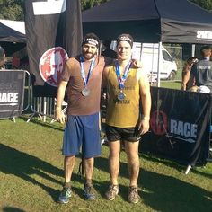 Spartan Super South . Having flu and then going on a 4 day lads holiday the week before did not help my preparation but definitely one of the most challenging and satisfying things I've ever done. Actually washed myself in the 'final' river so this is the clean version. #spartan #lafitness #super #obstacles #fitness #fitpic #fitfam #finisher #sussex #weekend #challenge #sport #pushyourself #accomplishment #crosscountry #running #swimming