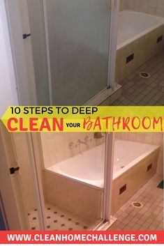 Want to know how to give your bathroom, a really good deep clean. Follow my 1 simple steps to a sparkling clean bathroom.