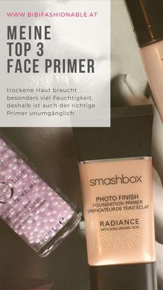 Face Primer bereiten die Haut auf das darauffolgende MakeUp vor und sorgen zugleich für dessen Haltbarkeit. Gerade bei trockener Haut sollte man hier zu Produkten greifen die gut Feuchtigkeit spenden.