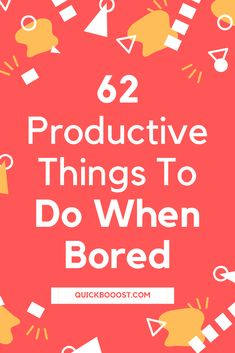 Looking for productive things to do when bored at home? This is what you need! Use these tips, tactics, and ideas to end your boredom, get stuff done, and have a productive day! #productive #productivity #productivethingstodo Productive Things To Do, Things To Do At Home, Things To Do When Bored, Productive Day, Getting Things Done, Time Management Activities, Time Management Printable, Time Management Quotes, Time Management Skills