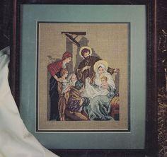 Nativity Scene Cross Stitch Pattern - via Etsy.