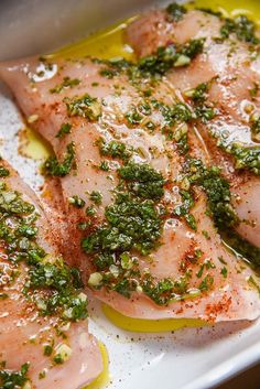 Oven baked Chimichurri Chicken recipe #chicken #baked #dinner #mexican #mexicanfood #mexicanrecipes #cilantro #garlic