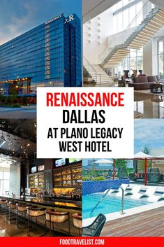 If you're looking for somewhere special to visit and somewhere remarkable to stay look no further than the Renaissance Dallas at Plano Legacy West Hotel. The hotel is located right next to the Legacy West &steps away from The Shops at Legacy too. So many terrific shops and so many great places to eat you will simply run out of time before you run out of things to do...and eat. The hotel is beautifully appointed and has every luxury and amenity you can imagine. #Sponsored #VisitPlano #PlanoTexas