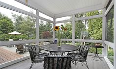 glass screened porch