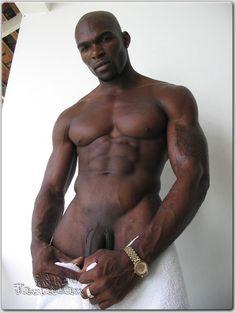 Dark black naked man pic 16