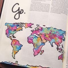 Bible journaling and international love. I love this bible art, illustrated faith, Bible journal thang. Scripture Art, Bible Art, Bible Quotes, Qoutes, Art Journaling, Bible Study Journal, Bible Drawing, Bible Doodling, Beautiful Words