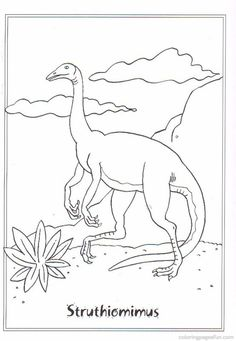 72 Best dinosaur colouring pages images | Coloring pages for kids ...