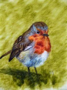 ... Fiona Gill of Marmelade Rose MarmaladeRose English robin ...
