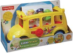 FISHER-PRICE Little People skolebus