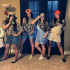 """Duck calls and overalls"" social! Go all out in camo and bright orange clothing. #sorority #mixer"