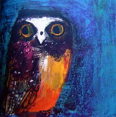 Owl from 'Birds' by Brian Wildesmith, 1967