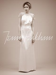 Jenny Packham dress, beautiful...and its called Eve.