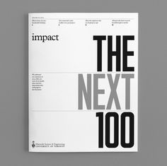 cover for Impact - Volume III, 2015: The Next Hundred | University Of Toronto - Department of Materials Science & Engineering
