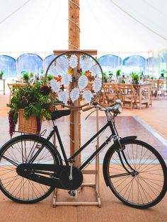 Bike table plan with autumn leaves. Real Simple Photography #wedding #tableplan #seating #photography