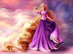 Rapunzel - Disney Princess by TinyTruc on DeviantArt Disney Princess Rapunzel, Tangled Rapunzel, Princess Art, Disney Tangled, Rapunzel Story, Rapunzel Cosplay, Walt Disney, Disney Nerd, Disney Fan Art