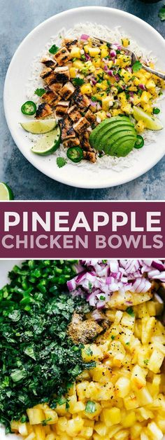 Delicious marinated chicken with a simple cilantro pineapple salsa this pineapple chicken is easy to throw together and mega flavorful! pineapple chicken recipe avocado salsa grill grilled bake easy recipe tarragon chicken salad with almonds Comida Keto, Marinated Chicken, Grilled Chicken, Salsa Chicken, Cilantro Chicken, Chicken With Salsa Recipe, Baked Pineapple Chicken, Cilantro Salsa, Chicken Sandwich