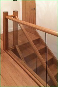 Case Study   Chase Road Glass Staircase
