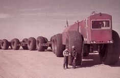Alaskan Land Train | Strange Vehicles | Diseno-Art