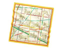 Hermes scarf 90: Saut d'Obstacles