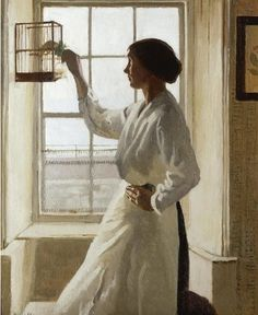Harold Harvey (British, 1874–1941) First Light