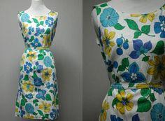 Sunshine.  1960's dress, $36.  S/M