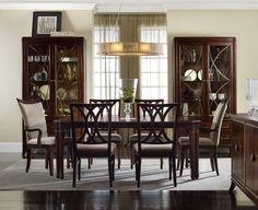 Hooker Furniture Palisade 7pc Rectangular Dining Table Set