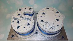 60th birthday number cake