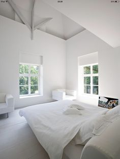 *** white bedroom ***