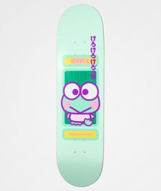 Skateboard Design, Skateboard Decks, Dangerous Sports, Skate Girl, Cool Skateboards, Indie Kids, 60th Anniversary, Mini Things, Sanrio