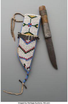 Lakota knife and sheath
