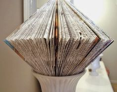 Book folding how to.