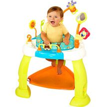 Walmart: Bright Starts - Bounce Bounce Baby $33 small & cheap. Works for us!