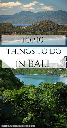 What to do in Bali. Top Bali activities. Top 10 things to do in Bali. Bali travel guide. Bali Guide.