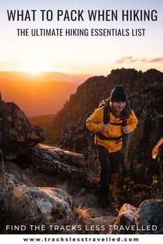 Sometimes the hardest part of starting a new activity is knowing what to wear or what to pack! But don't let that stop you, we have compiled an essentials list of all the things you need to pack when hiking, whether it be for a day hike or for an overnight hike, we've got you covered! What to bring when hiking | Hiking essentials packing list | day hike packing list | overnight hike packing list | what to wear hiking | hiking essentials | hiking packing list Hiking Gear, Hiking Backpack, Hiking Essentials, Outdoor Store, Day Hike, What To Pack, Outdoor Gear, The Balm, Bring It On