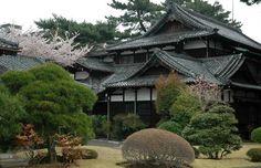 La maison traditionnelle japonaise est appelé un « minka ».