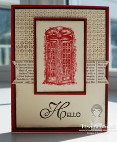 From My Pad to Yours: Sale-a-Bration - Feeling Sentimental - Phone Booth