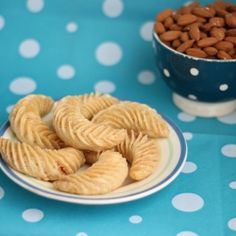 Oriental pastry, almond biscuit with honey