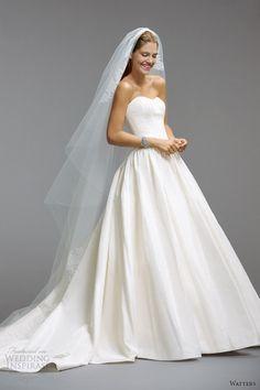 Watters bridal wedding dresses 2014