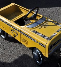 Kids old pedal car