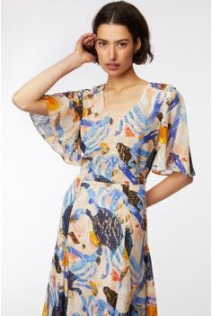 Rebekah Callaghan x Gorman new arrivals. Gorman Clothing, Silk Dress, Wrap Dress, Gored Skirt, Cold Shoulder Dress, Clothes For Women, Formal Dresses, My Style