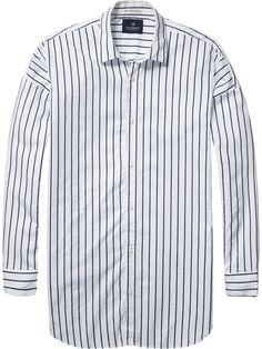 Long Fit Oxford Shirt