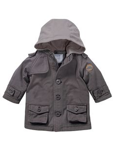 Baby Boy Safari jacket GREY MEDIUM SOLID