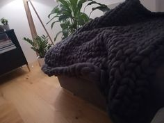 #chunkyblanket Chunky Blanket, Merino Wool Blanket, Blankets, Bed, Life, Stream Bed, Blanket, Beds, Cover