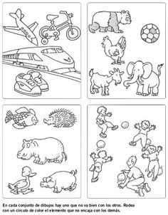 DOCENTECA - Divertidas Fichas De Razonamiento Lógico para primaria Teachers Corner, Hidden Objects, Psychology, Kindergarten, Homeschool, Bullet Journal, Kids, Character, Montessori