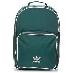 Bolsos Mochila adidas Originals CLASSIC ADICOLOR BP Verde Mochila Adidas, Adidas Originals, The Originals, Textiles, Fashion Bags, Backpacks, Classic, Templates, World Of Fashion