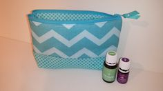 Essential Oil Travel Bag by TeresaScholleDesigns on Etsy