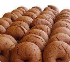 Μουστοκούλουρα με πετιμέζι - gourmed.gr Greek Sweets, Greek Desserts, Cold Desserts, Greek Recipes, Sweet Buns, Sweet Pie, Greek Cookies, Greek Pastries, Cookie Recipes