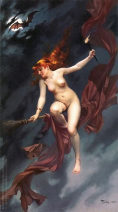 Luis Ricardo Falero The Witches Sabbath print for sale. Shop for Luis Ricardo Falero The Witches Sabbath painting and frame at discount price, ships in 24 hours. Ghost In The Machine, Jeff Koons, Damien Hirst, Classic Paintings, Witch Art, Oil Painting Reproductions, Erotic Art, Dark Art, Art History